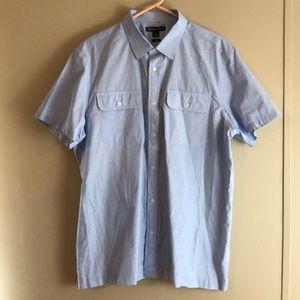 Michael Kors Tailored Fit Men's Short Sleeve Shirt